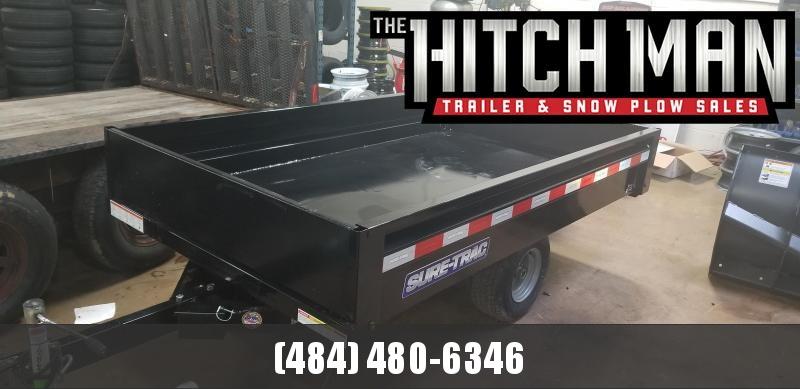 4.5 x 8 Sure-Trac Utility Dump Trailer 3k