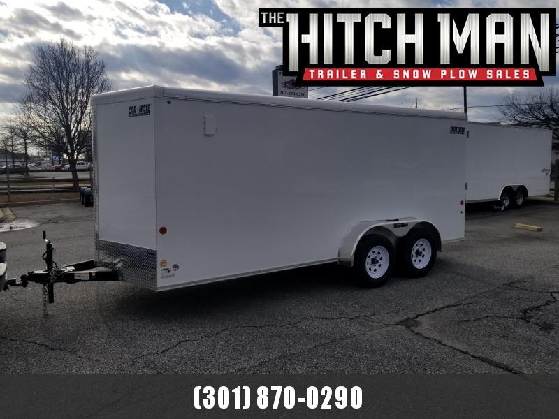 7 X 16 Car Mate V-Sport Enclosed Cargo Trailer 7k