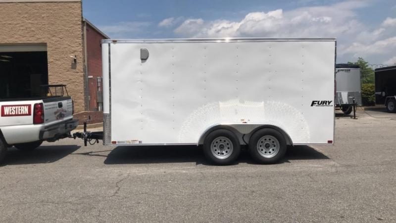 7 x 14 Homesteader Fury Enclosed Cargo Trailer 7k