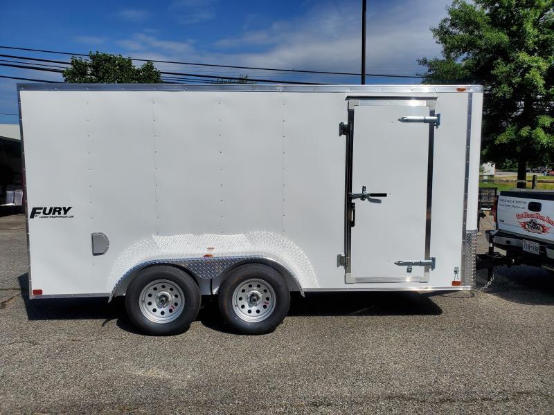 7 x 14 Homesteader Fury Enclosed Cargo Trailer 7k