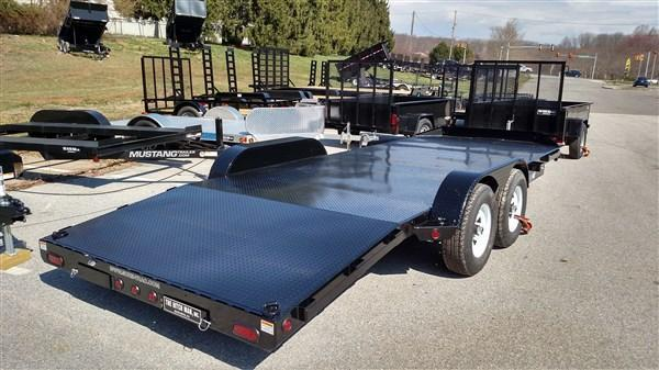 7 x 20 Sure Trac 10k Full Deck Car Hauler