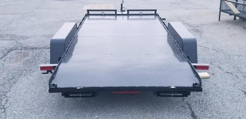 7 x 16 Holmes Full Deck Car Hauler 7k
