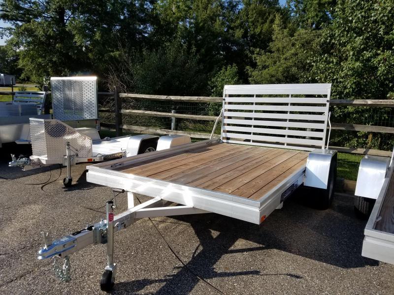 Aluma 6.5' x 10' Aluminum Wood Deck Utility Trailer 3k