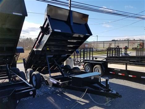 6 x 12 Sure-Trac LProfile Dump Trailer 10k
