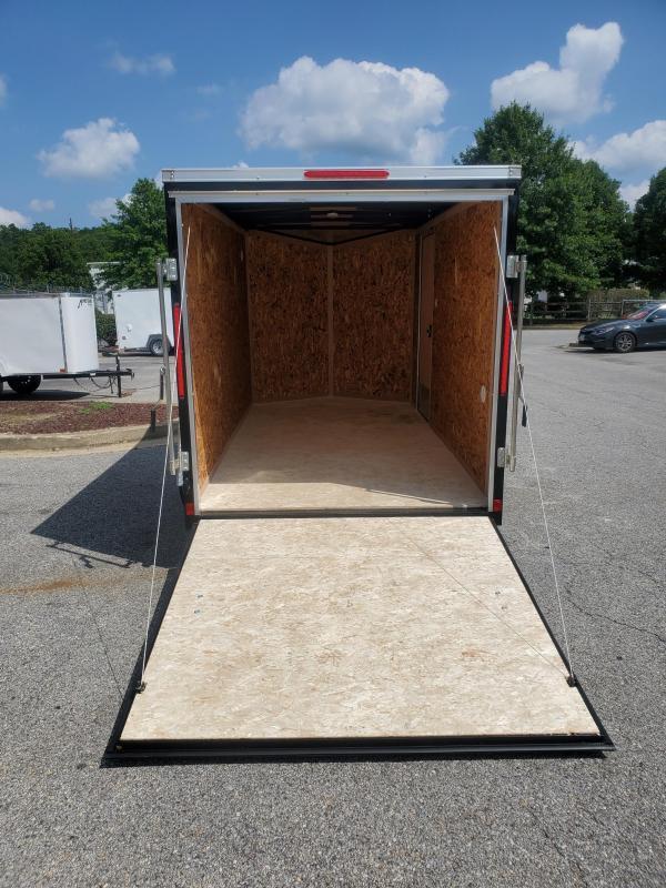 6 x 12 Look ST DLX V-Nose Cargo Trailer 3k
