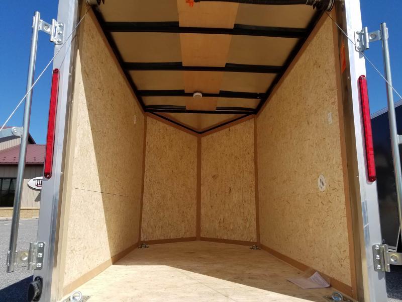 5 x 8 Look Element SE V-Nose Cargo Trailer 3k
