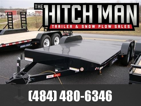 7 x 18 Sure-Trac Full Deck Car Hauler 7k