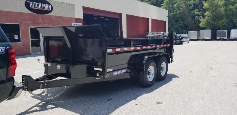 82 in x 12 Sure-Trac LProfile Dual Ram Dump 12k