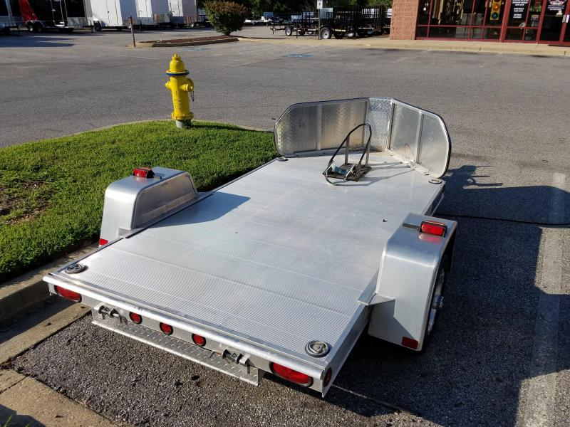 Used Mission Single Motorcycle Trailer 2k