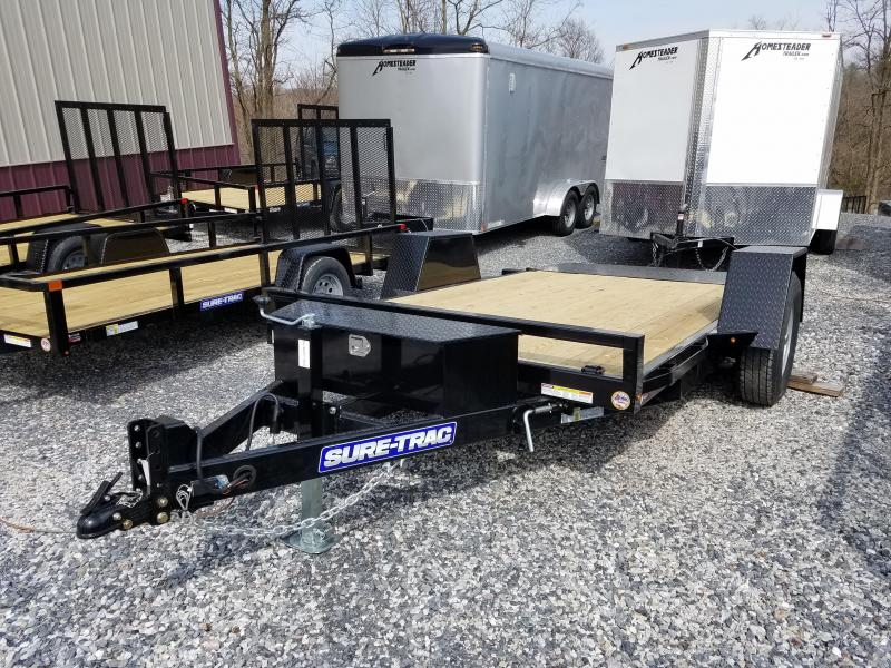 6.5 x 12 Sure-Trac Single-Axle Tilt Bed Equipment 7k