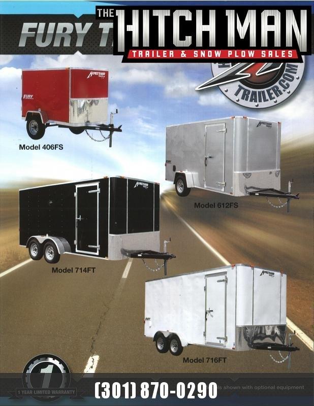 5 x 10 Homesteader Fury Enclosed Cargo Trailer 3k