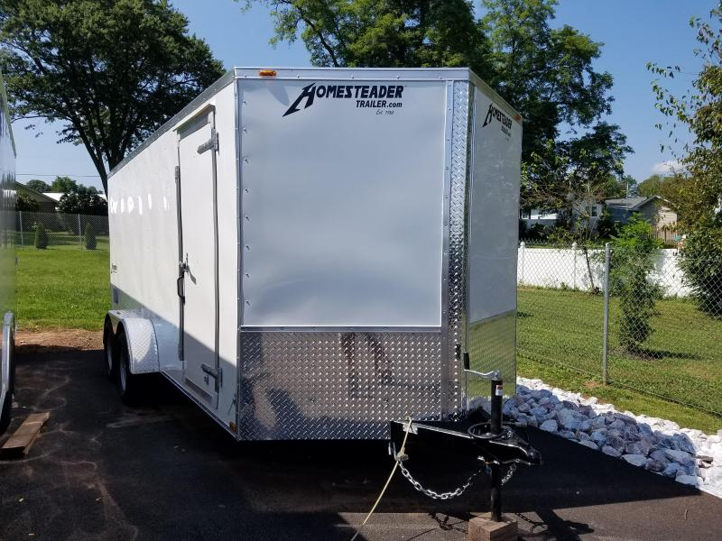 7 x 16 Homesteader Intrepid V-Nose 7k