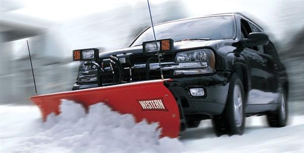 Western Suburbanite Snow Plow