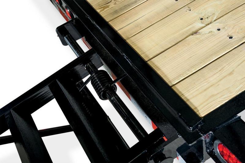 7 x 18 Sure-Trac Skid Steer Equipment Trailer 14K