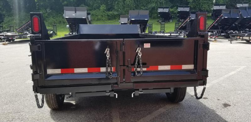 72in x 12 Sure-Trac LProfile Single Ram Dump 10k