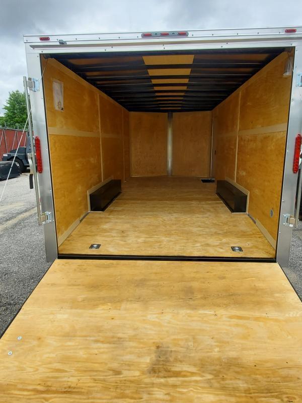 8.5 x 20 Homesteader Intrepid V-Nose Cargo Trailer 7k