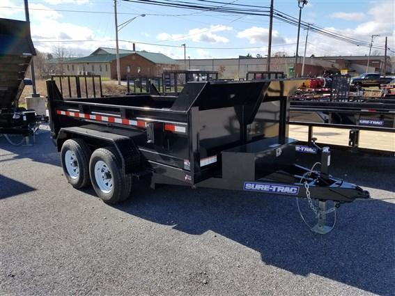 6 x 10 Sure-Trac 10k Low-Profile Dump Trailer