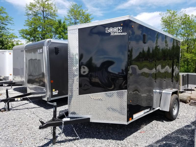 6 x 10 Look Element SE V-Nose Cargo Trailer 3k