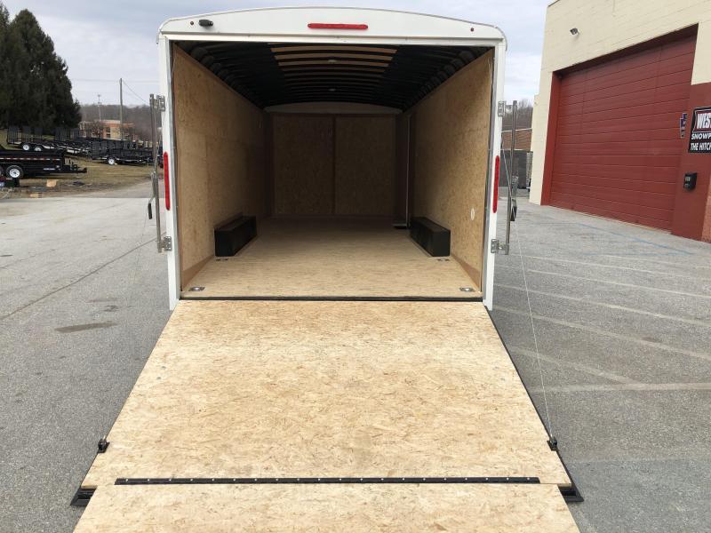 8.5 x 20 Look Round Enclosed Cargo 10k