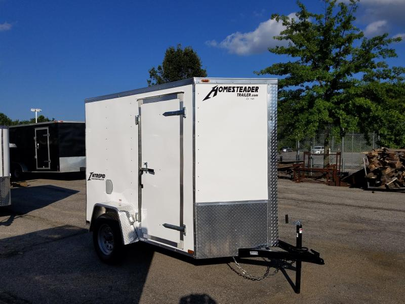 5 X 8 Homesteader Intrepid V-Nose Enclosed Cargo Trailer 3k in Ashburn, VA