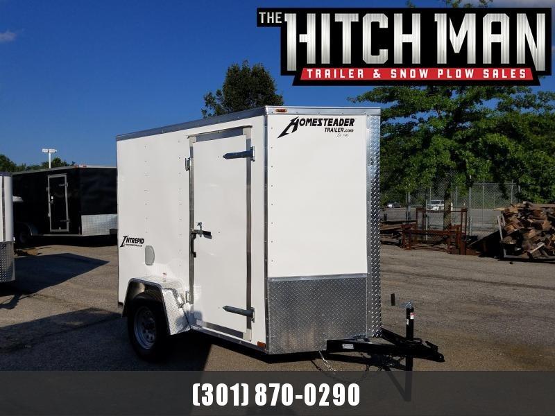 5 X 8 Homesteader Intrepid V-Nose Enclosed Cargo Trailer 3k