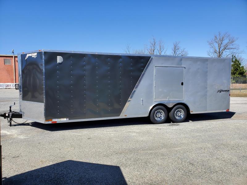 8.5 x 24 V Homesteader Champion 10k Enclosed Car Hauler