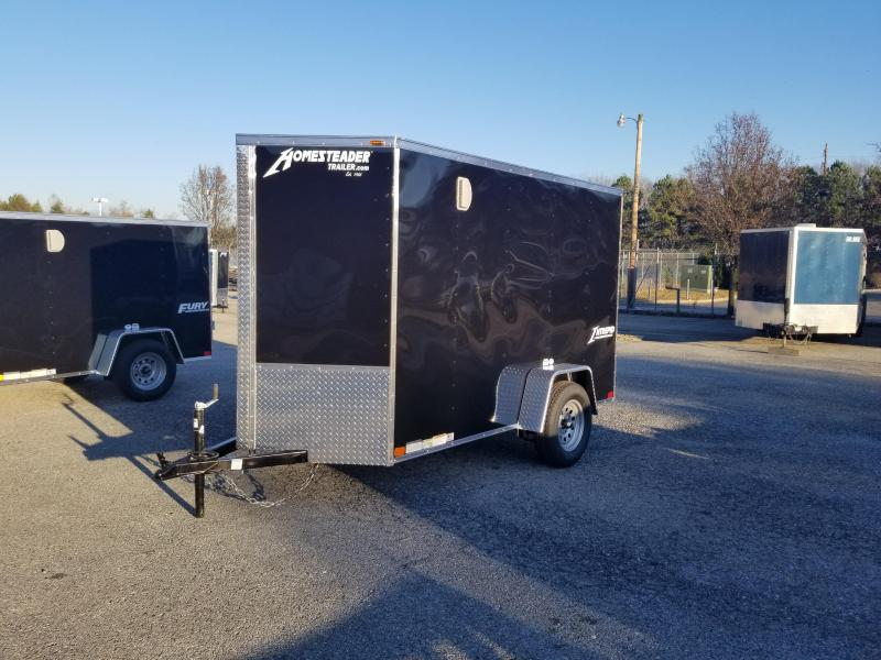 Homesteader 5 x 10 Intrepid V-Nose Cargo Trailer 3k