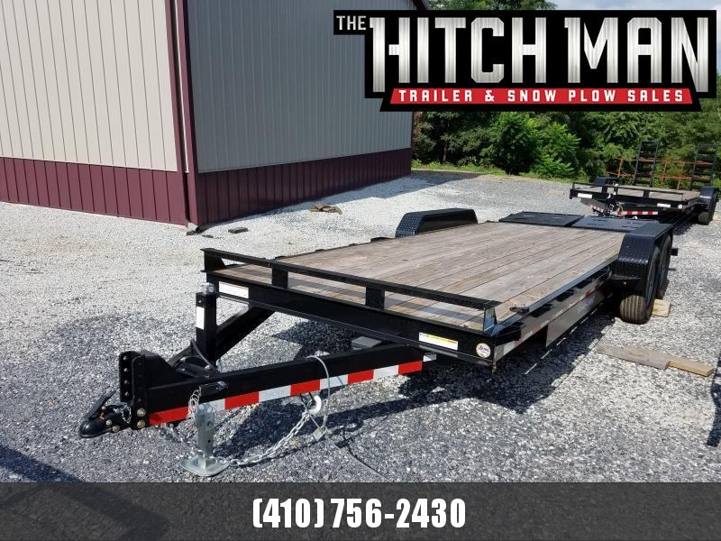 7 x 20 Sure-Trac Univ Ramp Implement Trailer 14k