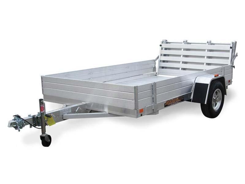 "5' 8"" x 10' Aluma 6810H Aluminum Utility Trailer 3K"