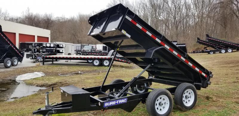 2019 Sure-Trac 5 x 10 LProfile Dump 7K Single Ram