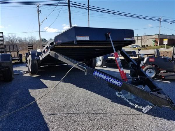 7 x 20 Sure Trac 10k Tilt Bed Car Hauler