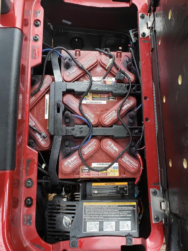 2017 RXV 48V-2 PASSENGER-RED (ELECTRIC)