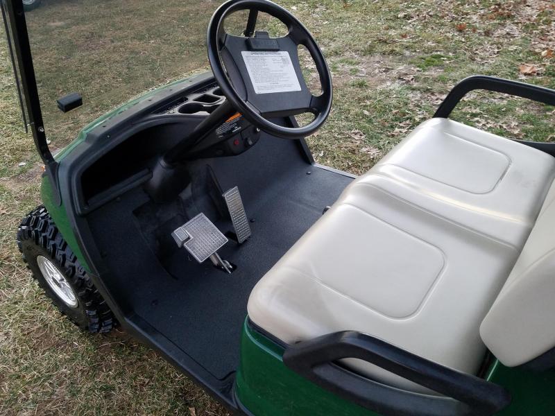 2013 YAMAHA DRIVE-4 PASSENGER-GREEN (GAS)