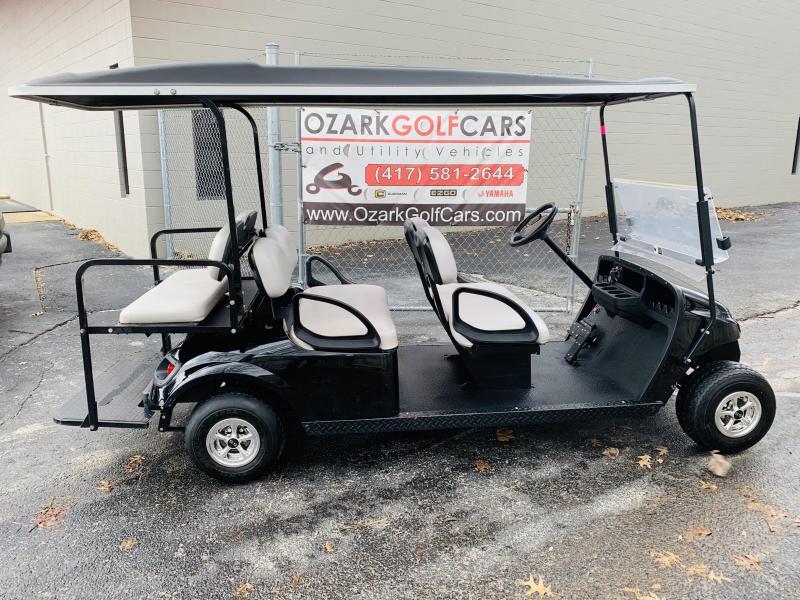 2015 E-Z-GO E-Z GO TXT 6-PASSENGER-BLACK (GAS) Golf Cart