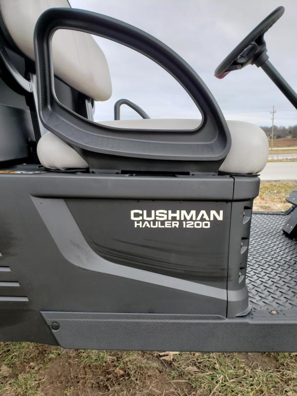 2019 CUSHMAN HAULER1200X-UTILITY VEHICLE-PATRIOT BLUE (GAS)