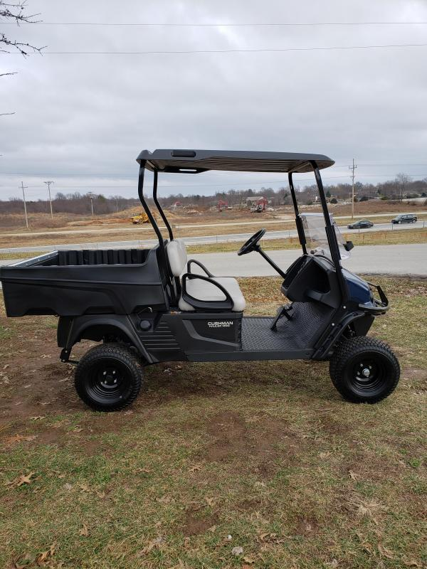 2019 CUSHMAN HAULER1200X-UTILITY VEHICLE-PATRIOT BLUE (GAS)