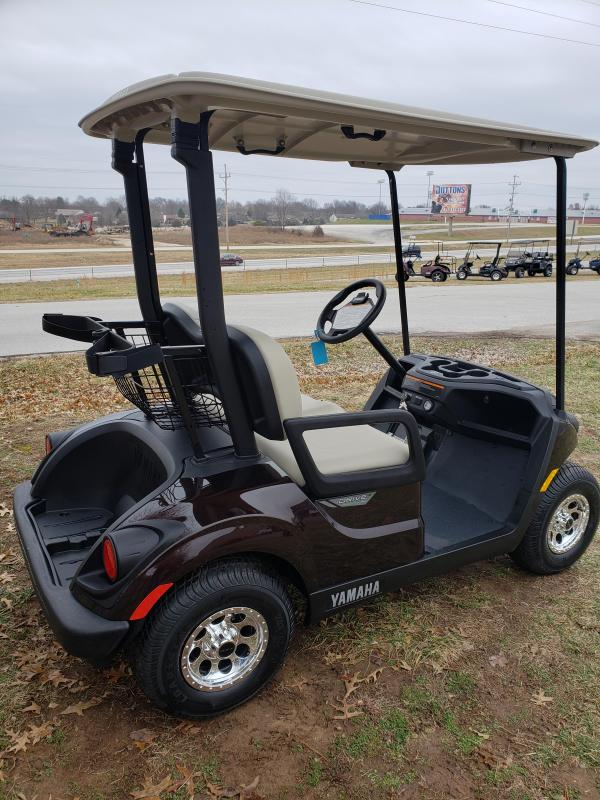 2018 YAMAHA-2 PASSENGER-RICH BROWN (ELECTRIC)