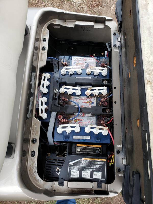 2014 RXV 48V-4 PASSENGER-ALMOND (ELECTRIC)