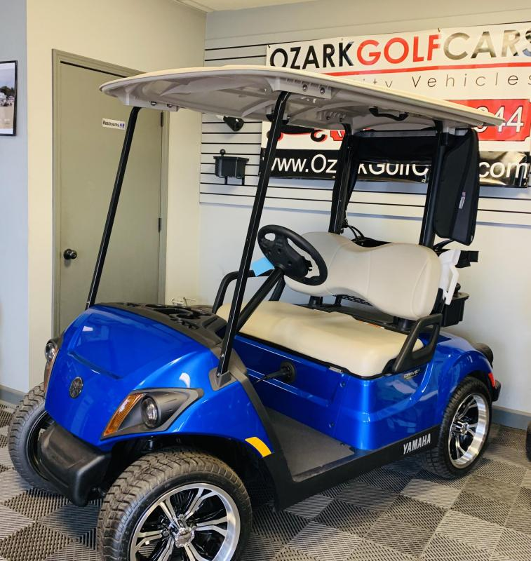 2018 YAMAHA-2 PASSENGER-AQUA BLUE (ELECTRIC)