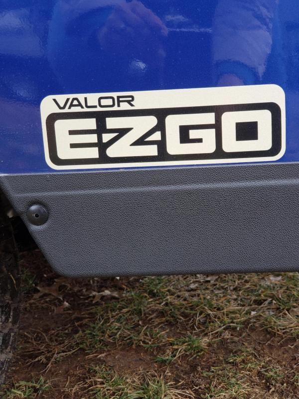 2019 VALOR-4 PASSENGER-ELECTRIC BLUE (GAS)