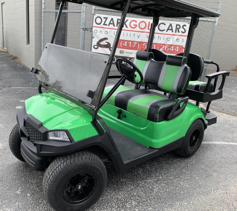 2013 YAMAHA DRIVE-4 PASSENGER-LIME GREEN (GAS)