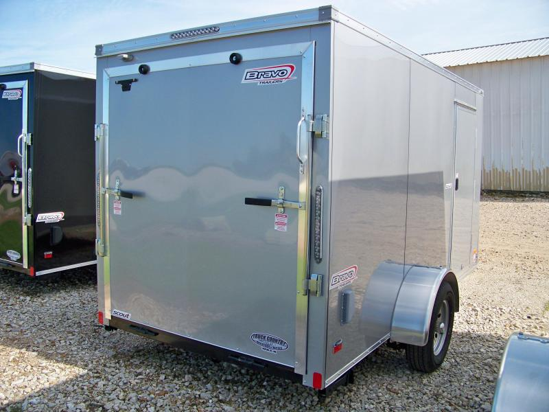 2018 Bravo Trailers 6x12 scout Enclosed Cargo Trailer