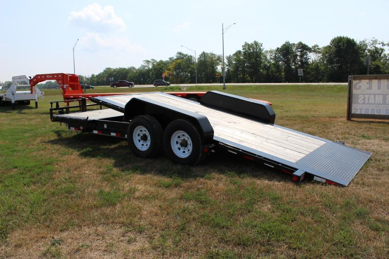 2019 PJ Trailers TJ 22' tilt Equipment Trailer