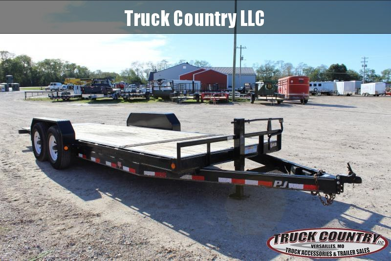 2013 PJ Trailers T6 20' tilt Equipment Trailer