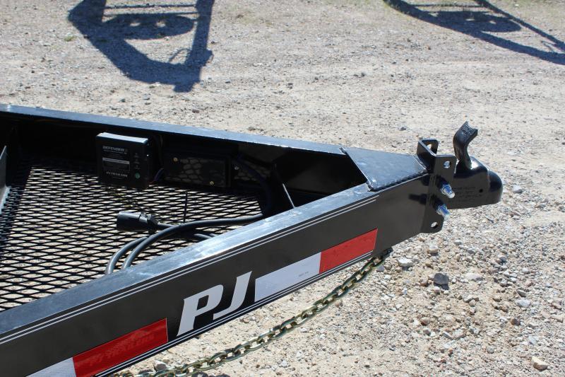 2019 PJ Trailers B6 22' BP superwide drive over fenders Equipment Trailer
