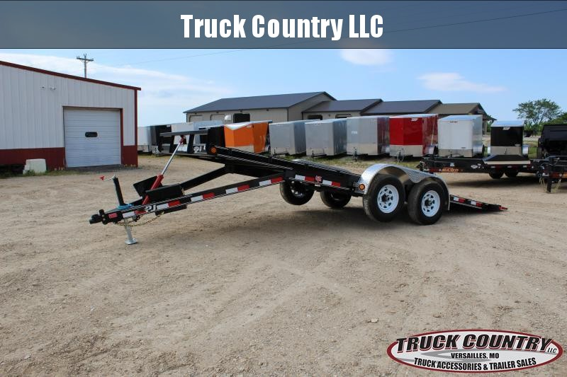 2020 PJ Trailers TH 20' hydraulic tilt Car / Racing Trailer