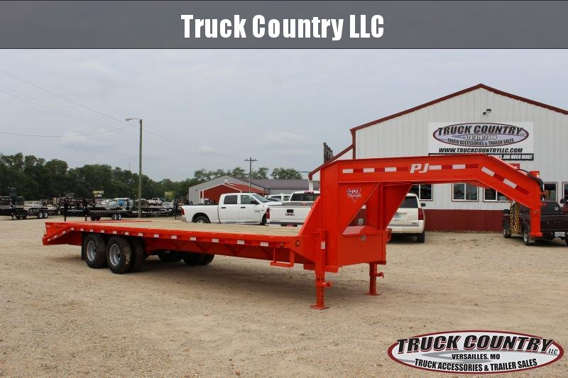 2019 PJ Trailers FD 28 gooseneck Flatbed Trailer in Ashburn, VA