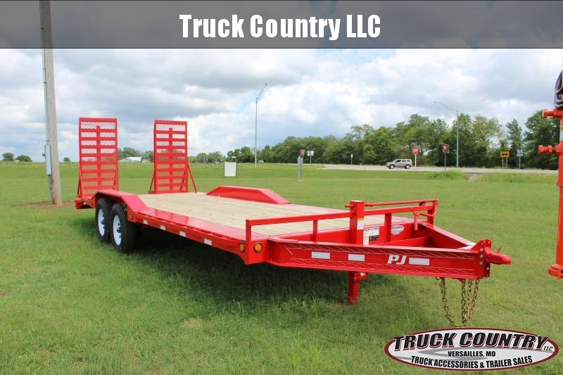 2019 PJ Trailers H6 22' superwide w/ drive over fenders Equipment Trailer