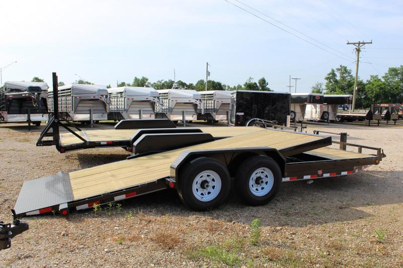 2019 PJ Trailers T6 20' tilt Equipment Trailer