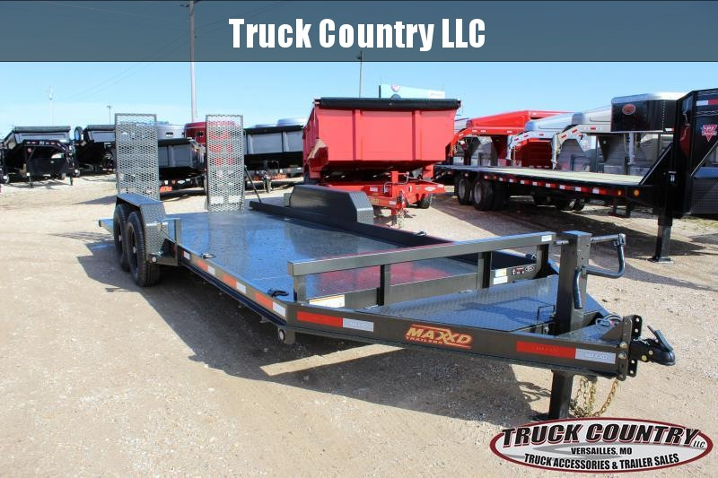 2019 MAXXD B6X 20' Equipment Trailer
